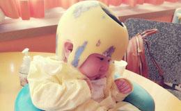 [국내아동지원] 사랑이, 작년 12월 베이비 박스에서 발견된 아이