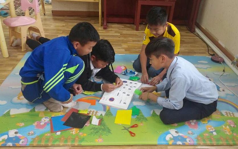 몽골 LOVE FNC 아동센터 담당자가 보내온 편지